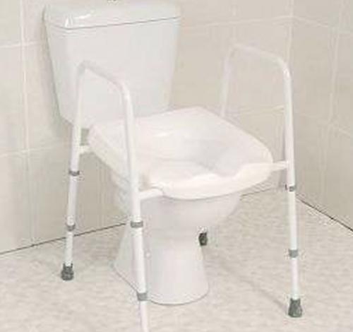 frame for toilet use